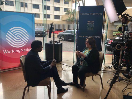 WorkingNation's Ramona Schindelheim interviews Infosys President Ravi Kumar.