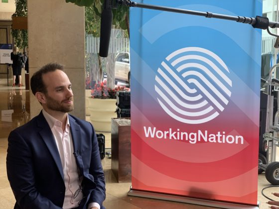 Josh Giegel talks with WorkingNation at Milken Global Conference 2019.