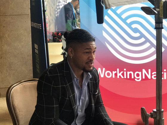 Co-founder of GOOD Projects, Troye Bullock, talks with WorkingNation at Milken Global Conference 2019.