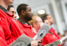 City Year Boston at the 20th AmeriCorps Opening Day
