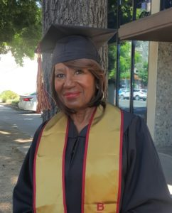 Brandman University graduate Patricia Bunts.