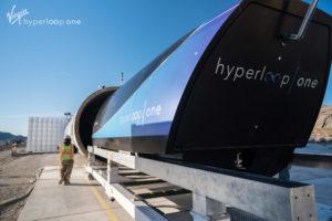 Virgin Hyperloop One pod