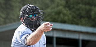 umpire needs glasses - or . robot