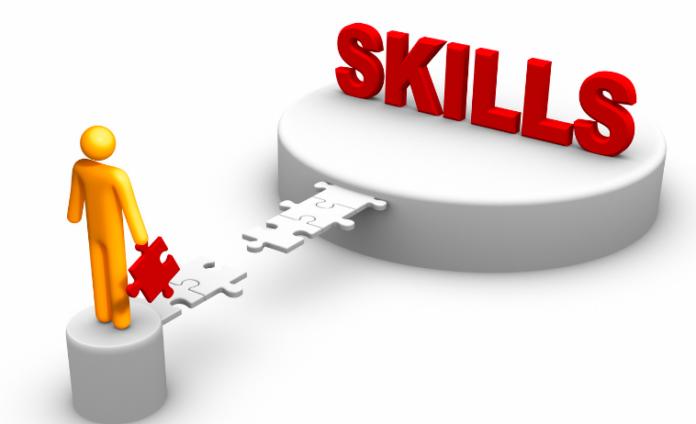 skills gap graphic