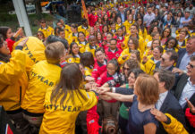 City Year opening day celebration