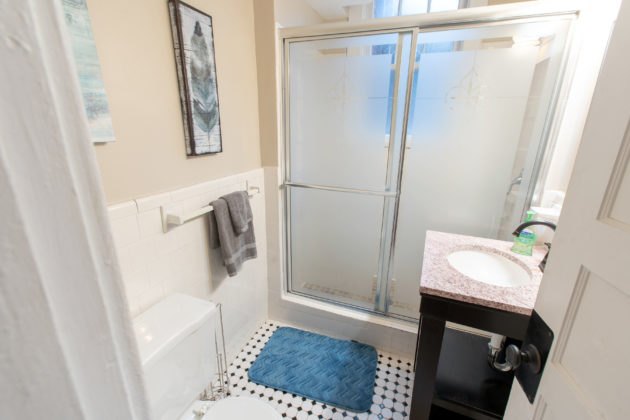 Bathroom in HillVets House