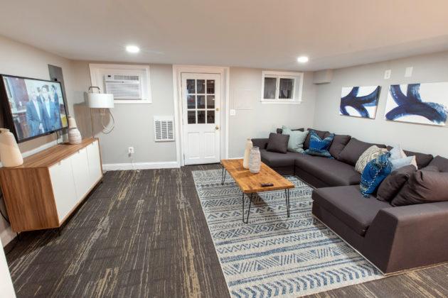 HillVets House living room