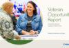LinkedIn Veteran Opportunity Report graphic