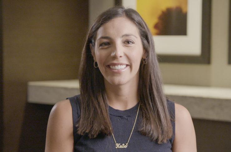 Kate Migliaro interview shot