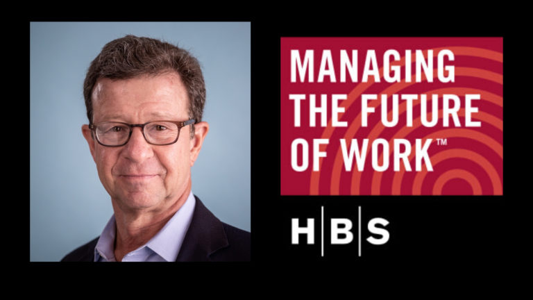 Listen to Art Bilger, WorkingNation founder and CEO, on the Harvard Business School podcast