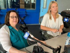 Joan Lynch and Ramona Schindelheim on WGN
