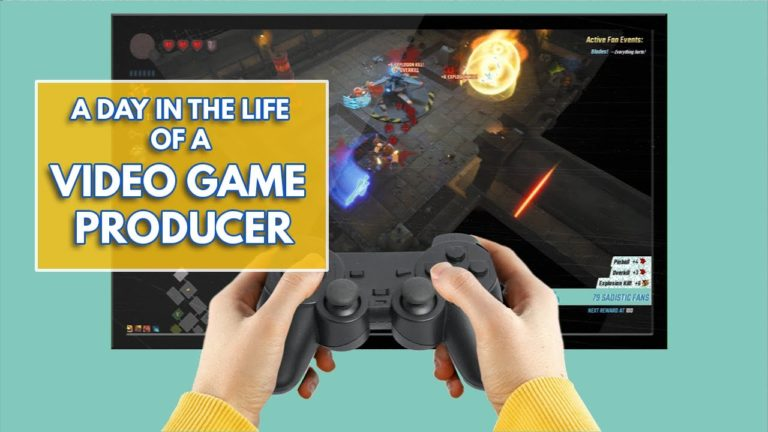 I Want That Job!: Video game producer