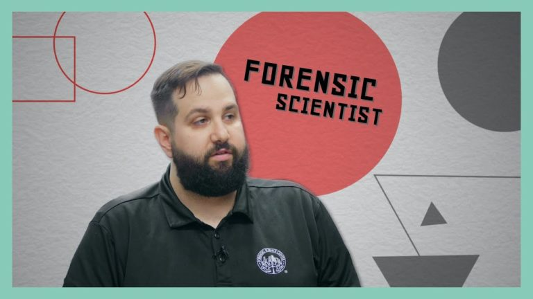 I Want That Job!: Forensic science technician