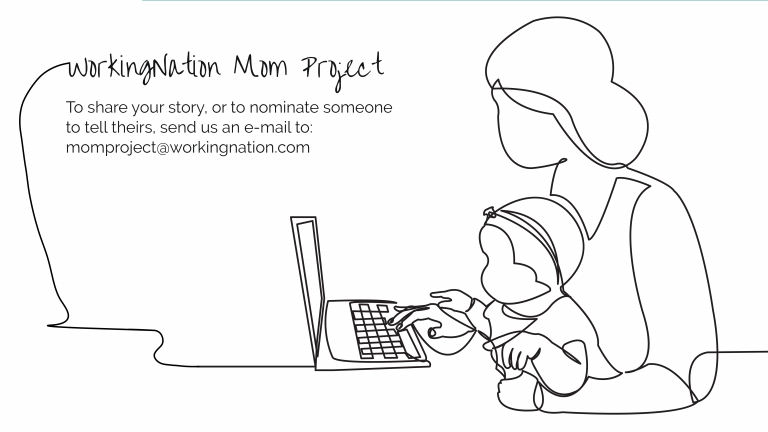 How is the pandemic affecting working moms?